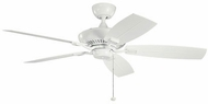 Kichler 310192WH Canfield Patio White Indoor / Outdoor 52 Ceiling Fan