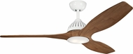 Kichler 310360WH1 Jace Contemporary White LED 60 Home Ceiling Fan