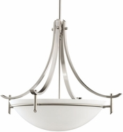 Kichler 3278AP Olympia Antique Pewter Modern 3-Light Inverted Pendant