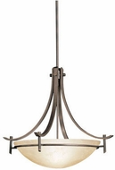 Kichler 3278OZ Olympia Modern Olde Bronze 24  Drop Ceiling Lighting