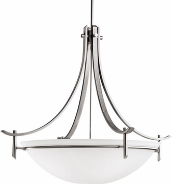 Kichler 3279AP Olympia Antique Pewter Modern 5-Light Inverted Pendant