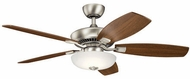 Kichler 330013NI Canfield Pro Oil Brushed Bronze LED 52 Home Ceiling Fan