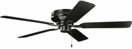 Kichler 330021SBK Basics Pro Legacy Patio White Indoor / Outdoor 52 Home Ceiling Fan