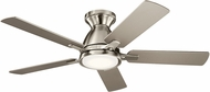 Kichler 330090BSS Arvada Brushed Stainless Steel LED 44 Home Ceiling Fan