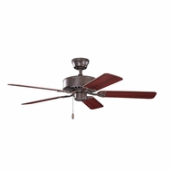 Kichler 330100TZ Renew Tannery Bronze Finish 50 Inch Home Ceiling Fan