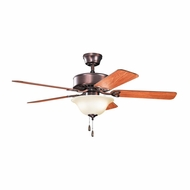 Kichler 330103OBBU Renew Select ES Oil Brushed Bronze Finish 50 Inch Ceiling Fan