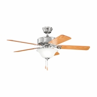Kichler 330110BSS Renew Select Brushed Stainless Steel Finish 50 Inch Ceiling Fan