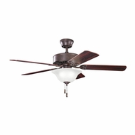 Kichler 330110TZ Renew Select Tannery Bronze Finish 50 Inch Ceiling Fan
