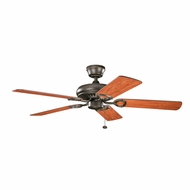 Kichler 339011OZ Sutter Place Olde Bronze Finish 52 Inch Home Ceiling Fan