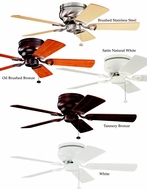 Kichler 339017 Stratmoor 42 Inch Transitional Ceiling Fan With 5 Finishes