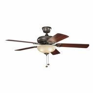 Kichler 339211OZ Sutter Place Select Olde Bronze Finish 52 Inch Home Ceiling Fan