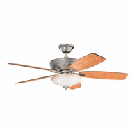 Kichler 339213BAP Monarch Burnished Antique Pewter Finish 52 Inch Ceiling Fan