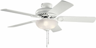 Kichler 339501MWH Sutter Place Select Matte White LED 52 Ceiling Fan