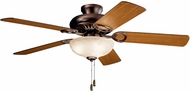 Kichler 339501OBB Sutter Place Select Oil Brushed Bronze LED 52 Home Ceiling Fan