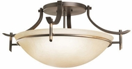 Kichler 3606OZ Olympia Contemporary Olde Bronze Ceiling Light