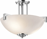 Kichler 3797CH Eileen Contemporary Chrome Ceiling Lighting Fixture
