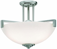 Kichler 3797NIL16 Eileen Contemporary Brushed Nickel LED Ceiling Light Fixture