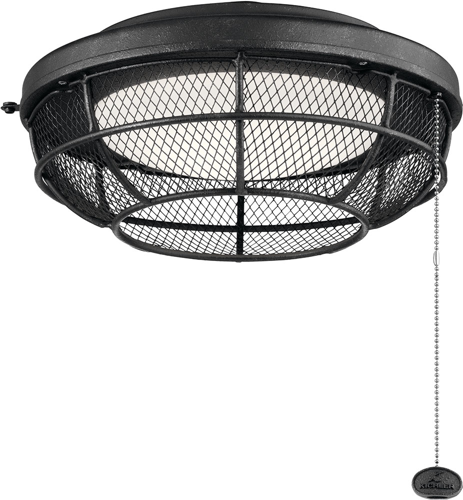 Kichler 380952DBK Contemporary Distressed Black LED Indoor ...