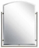 Kichler 41056NI Structures Contemporary Wall Mirror in Brushed Nickel