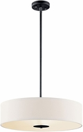 Kichler 42121BK Black 20  Drum Lighting Pendant