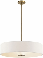 Kichler 42122CLZ Classic Bronze 24  Drum Hanging Light