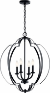 Kichler 42138BK Voleta Modern Black Foyer Lighting