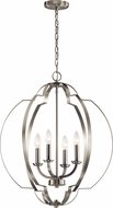 Kichler 42138NI Voleta Contemporary Brushed Nickel Foyer Light Fixture