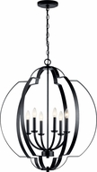 Kichler 42139BK Voleta Modern Black Foyer Lighting Fixture