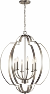 Kichler 42139NI Voleta Contemporary Brushed Nickel Entryway Light Fixture