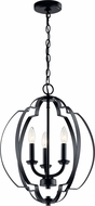 Kichler 42140BK Voleta Modern Black Foyer Lighting