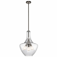 Kichler 42190OZ Everly Olde Bronze 16  Pendant Light
