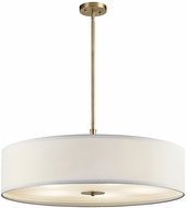 Kichler 42196CLZ Classic Bronze 30  Drum Hanging Pendant Lighting