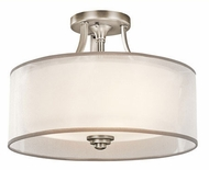 Kichler 42386AP Lacey Modern Antique Pewter Home Ceiling Lighting