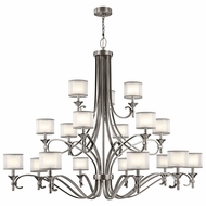 Kichler 42396AP Lacey Antique Pewter Lighting Chandelier