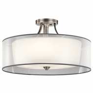 Kichler 42399AP Lacey Antique Pewter Ceiling Light Fixture