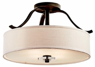 Kichler 42486OZ Leighton Semi-flush Ceiling Light