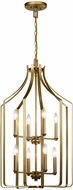 Kichler 42498NBR Morrigan Natural Brass Foyer Lighting