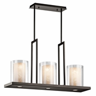 Kichler 42547OZ Triad Olde Bronze Finish 18  Tall Kitchen Island Lighting