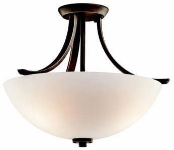 Kichler 42563 Granby Semi-flush Mount Ceiling Light Fixture