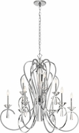 Kichler 42895CH Optic Ice Chrome Chandelier Lamp