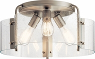 Kichler 42955NI Thoreau Contemporary Brushed Nickel Ceiling Lighting Fixture