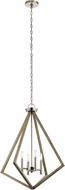 Kichler 43034DAG Deryn Contemporary Distressed Antique Gray Foyer Lighting