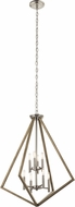 Kichler 43036DAG Deryn Contemporary Distressed Antique Gray Foyer Light Fixture