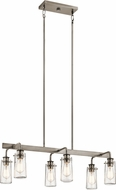 Kichler 43059CLP Braelyn Contemporary Classic Pewter Kitchen Island Lighting