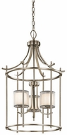 Kichler 43139AP Tallie Contemporary Antique Pewter Foyer Lighting