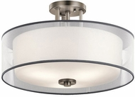 Kichler 43194AP Tallie Contemporary Antique Pewter Ceiling Lighting