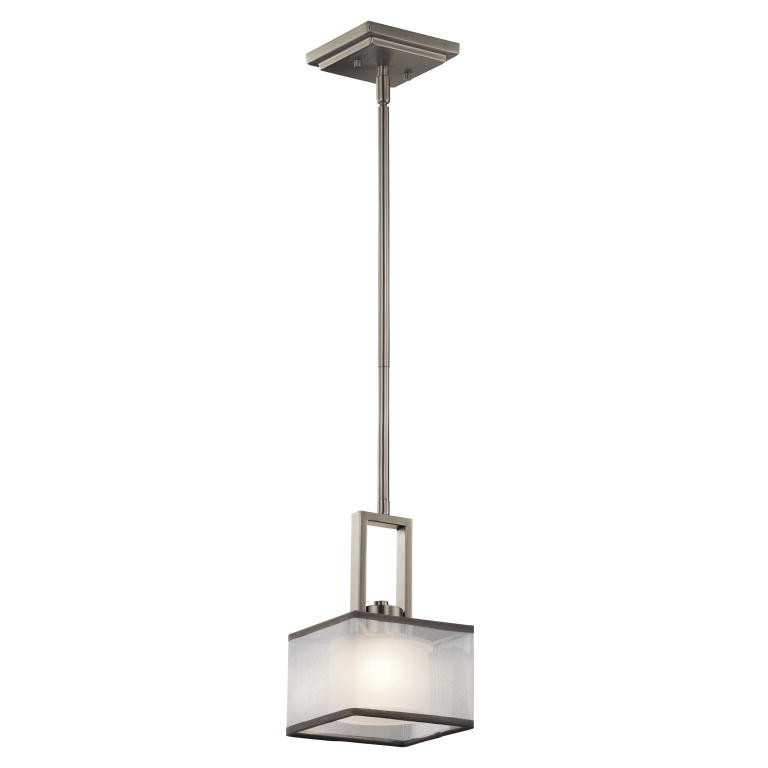 Kichler 43442ni Kailey Contemporary Brushed Nickel Finish 6 Wide