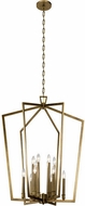 Kichler 43496NBR Abbotswell Modern Natural Brass 30  Entryway Light Fixture