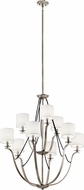 Kichler 43534CLP Thisbe Classic Pewter Chandelier Light