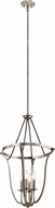 Kichler 43535CLP Thisbe Classic Pewter Foyer Lighting Fixture